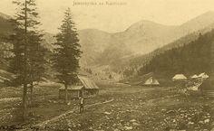 Jaworzynka za Kuźnicami - Górale i Tatry na starych fotografiach