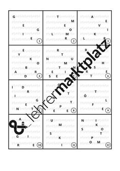 Instrumente - 44 Purzelwörter – Unterrichtsmaterial im Fach Musik Sheet Music, Orchestra, Conductors, Play Based Learning, Songs, Teaching Materials, Music Score, Music Notes