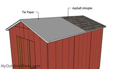 Wood Shed plans Storage - - Large Shed plans Videos - Wood Shed plans Buildings - DIY Shed plans Free - Shed Plans 12x16, Wood Shed Plans, Free Shed Plans, Shed Building Plans, Shed Frame, Diy Storage Shed Plans, Shed Design Plans, Cheap Sheds, Large Sheds