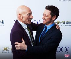 Professor X and Charles Xavier