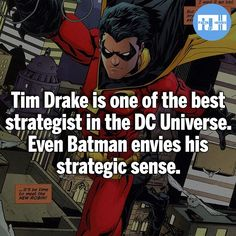 Personally he isn't my favorite Robin but, I can appreciate his intellect  ⠀⠀⠀⠀⠀⠀⠀⠀⠀⠀⠀⠀⠀⠀⠀⠀⠀⠀⠀⠀⠀⠀⠀⠀⠀⠀⠀⠀⠀⠀