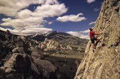 Home | Adventure | Rock Climber City of Rocks National Reserve ...