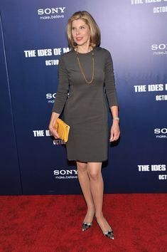 "Christine Baranski Photos: ""The Ides Of March"" New York Premiere - Inside Arrivals"