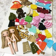 #crochet #amigurumi #cute #handmade #girl #gift #jibsoya Crochet Doll Dress, Knitted Dolls, Felt Dolls, Dolls For Sale, Amigurumi Doll, Elsa, Doll Clothes, Knitting Patterns, Frozen