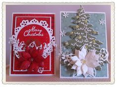 Christmas collection 2015 Handmade poinsettias