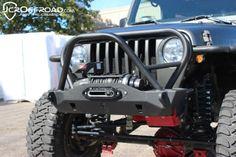 $529 Deluxe Mauler Stubby Front Winch Bumper - TJ Wrangler