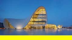 zaha hadid: heydar aliyev center, baku, azerbaijan. in 2007, zaha hadid architects won a competition to develop the 'heydar aliyev center' i...