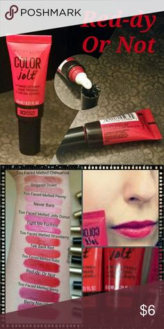 Intense Lip Paint COLOR jolt intense lip paint by Maybelline Color #25 Talk Back Red. New, never used or swatched. Maybelline Makeup Lipstick