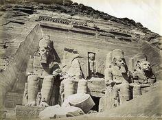 Nubie Temple d'Abou-Simbel, ...