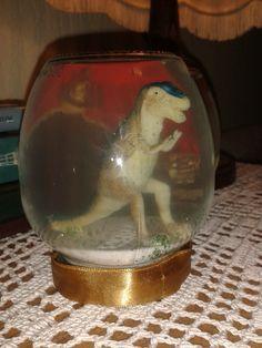 Glitter Jar with Dino