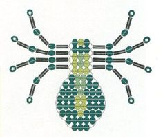 Beading Tutorials Creation by Margaret Pony Bead Crafts, Beaded Crafts, Beaded Ornaments, Wire Crafts, Pony Bead Patterns, Beaded Jewelry Patterns, Loom Patterns, Beading Patterns, Bracelet Patterns