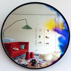 Nice interior! #mirror at vitra house #vitra