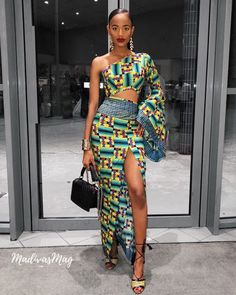 The complete collection of Exotic Ankara Gown Styles for beautiful ladies in Nigeria. These are the ideal ankara gowns Latest African Fashion Dresses, African Print Dresses, African Print Fashion, Africa Fashion, African Dress, Ankara Fashion, Nigerian Fashion, African Prints, Modern African Fashion