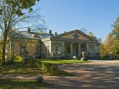 Espoon Manor, Finland Cities In Finland, Blonde Hair Boy, Andrea Palladio, Old Mansions, Urban City, Country Estate, Cottage Homes, Country Houses, Architecture