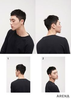 Korean men hairstyle trend 2017