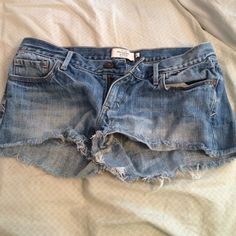 Abercrombie & Fitch Jean shorts Jean shorts from Abercrombie & Fitch Abercrombie & Fitch Shorts Jean Shorts