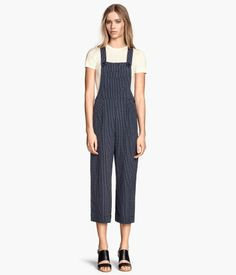 Patterned Bib Overalls  | H&M US