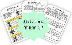 MHM- Les mini-fichiers CP MàJ octobre 2019 Math 5, My Job, Comprehension, Montessori, Bullet Journal, Education, School, Minis, Names