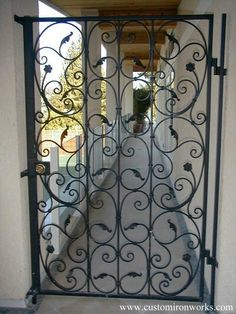 Project Gallery : Custom Ornamental Iron Works, Best Stair Railings and Gate Parts on the Net!
