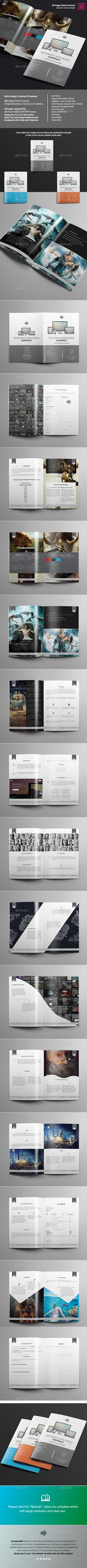 Simple And Minimal Proposal Template | Download:  Http://graphicriver.net/item/simple-And-Minimal-Proposal-Template/1010… |  Proposal & Invoice Templates