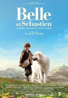Belle Sebastian, the movie! Can't wait for the dvd release, as it's not in the movie theaters near me. Dog Films, Funny Films, Netflix Movies, Disney Movies, Movies Showing, Movies And Tv Shows, Nicolas Vanier, Belle And Sebastian, Films Cinema