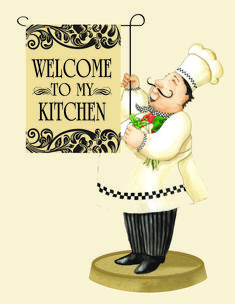 quenalbertini: Chef mini flag by Vicky Howard Decoupage Vintage, Decoupage Paper, Chef Kitchen Decor, Kitchen Art, Chef Pictures, Decoupage Printables, Foto Transfer, Mini Flags, Le Chef