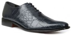 Giorgio Brutini Men's Carack Dress Lace Up Oxford Shoes Navy 20018