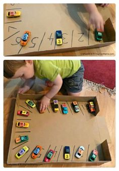 Counting and numbers with cars and parking