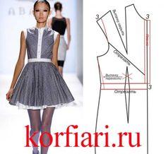 Выкройки платьев от А.Корфиати