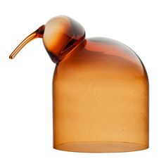 In warm copper, the charming Anna Bird from Iittala is an enchanting addition to your décor. Wonderfully collectible, each piece in the Toikka Birds collection is a unique, sculpture, beautifully crafted in mouth-blown glass. Decorative Objects, Decorative Accessories, Anna, Bird Types, Glass Birds, Glass Domes, Glass Design, Bird Feathers, Decoration
