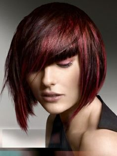 Short-medium bob... And the color is just gorgeous