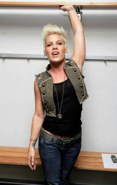 P!nk. Just. Being. Herself ;-$