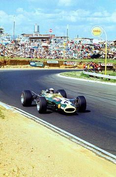 Jim Clark - Lotus - Kyalami, South African Grand Prix - 1968