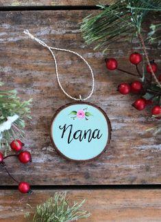 Cute Gran Gift Grandma Ornaments Personalized Blessed Grandma Ornament Grandma Ornaments Nana Ornament Grandma Christmas Ornament