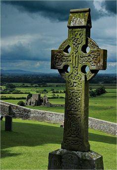 Headstone at Rock of Cashel