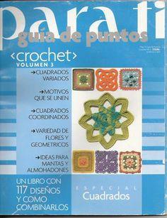 Todo para Crear ... : Guia de puntos Para Ti en crochet