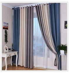 Cortinas modernas | Diseños de cortinas para la casa 2018 #PatternedCurtains