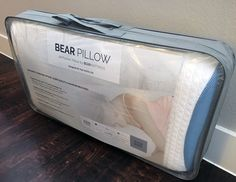 Our Bear Pillow Review We Bear, Pillow Reviews, Pillows, Cool Stuff, Cushion, Throw Pillow, Cushions, Throw Pillows