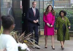 27 March 2015: The Duke and Duchess of Cambridge visit the Stephen Lawrence Centre in South London