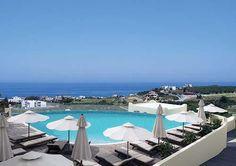 Rimondi Grand Hotel and Spa Resort - Crete, Greece Crete Rethymnon, Vacation Trips, Vacations, Ancient Beauty, Crete Greece, Wellness Spa, Beach Bars, Greek Life, Grand Hotel