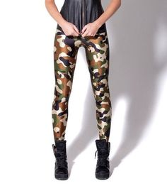New Army Camouflage Leggings