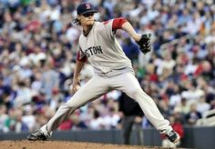 Game #17: Clay Buchholz fell off the tightrope he'd been walking all night and was charged with 5 runs for the 4th straight time.  He remains a work in progress.  Aceves continued to overthrow his fastball and put 2 on with a walk to Plouffe and a single by Burroughs. He hit No. 9 hitter Alexi Casilla with a pitch, setting the stage for Denard Span with the bases loaded, two outs. Aceves struck out Span with an offspeed pitch. It was Aceves's 4th save.  Red Sox won 7-6.