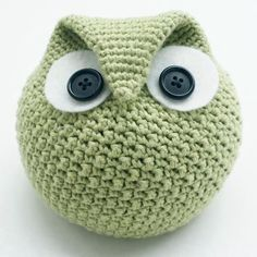 Crochet Chubby Owl Family - Knitting Patterns and Crochet Patterns from KnitPicks.com