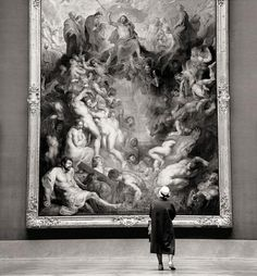 Fritz Henle - Rijks Museum, Amsterdam, 1960
