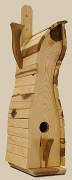 Birdhouses from Wesley Gallery make fine gifts #birdhousedesigns