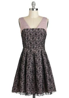 Affection for Confections Dress in Lilac, #ModCloth  Could possibly work well as a bridesmaid dress...