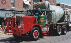 Mack Trucks, Big Rig Trucks, Old Trucks, Equipment Trailers, Concrete Mixers, Vintage Trucks, Classic Trucks, Scale Models, Cement