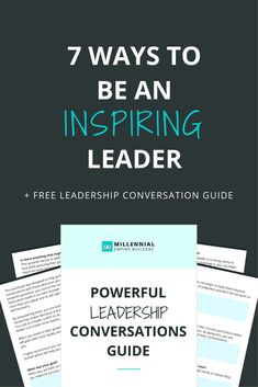 How awesome would it be to walk onto a stage where people are ecstatic to hear from you and you have a constant outpouring of people who are raving about the changes you've helped them make in their lives? Becoming an inspiring leader isn't some crazy, abstract concept. It's super actionable. Click through to learn how!