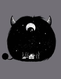 Funny creative illustrations (65)