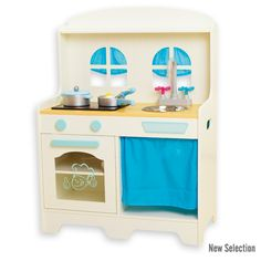 AndreuToys - Of x White Country Kitchen with Light & Sound